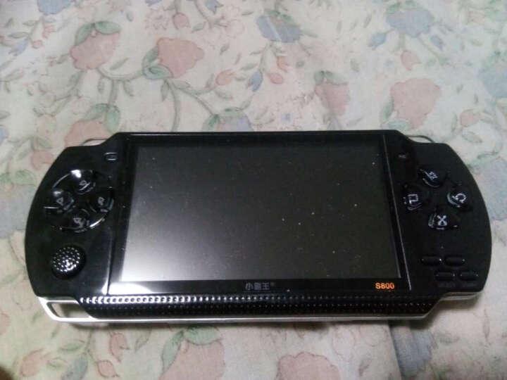 小霸王儿童玩具掌上psp游戏机S800彩屏GBA掌机电玩怀旧经典街机学习机 黑色 晒单图