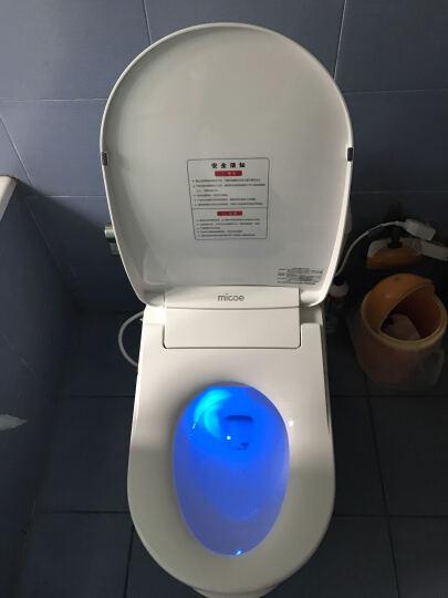 四季沐歌智能马桶盖冲洗洁身器电子坐便盖板加热冲洗