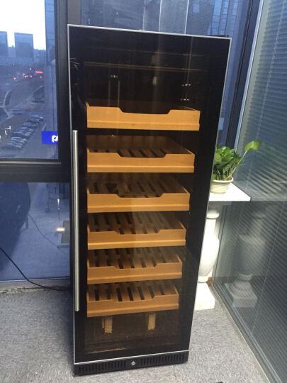 富贵红FG128X1恒温恒湿雪茄柜保湿柜立式冷藏柜家用恒温恒湿柜带锁1.65米压缩机雪茄柜大容量 晒单图