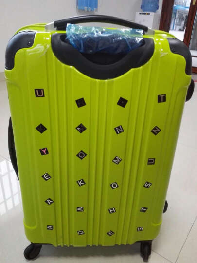 瑞动(SWISSMOBILITY)拉杆箱24英寸旅行箱 大容量行李箱轻盈静音万向轮男女 5555黑色(企业定制) 晒单图