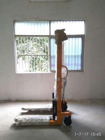晟雕 手动液压堆高车1吨2吨3吨 液压装卸车手动搬运车手动叉车液压车加厚板材 2.5吨 晒单图
