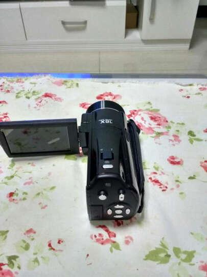 欧达 V7高清数码摄像机闪存DV1080p旅游家用2400万像素16倍变焦意大利名师设计 标配+16G+电池+麦克风+大礼包 晒单图