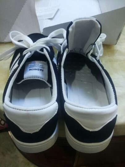 LUCCST男士休闲鞋 春夏季男鞋透气学生鞋 韩版户外运动板鞋 男生鞋子男款2203 白色 42 晒单图