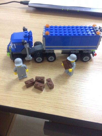 拼装儿童积木玩具军事工程坦克汽车飞机diy益智拼插模型男孩子生日礼物6-7-8-9岁新年礼物 任意4款特价(款式备注或留言) 晒单图