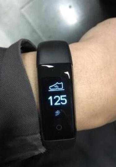 DFyou智能手环苹果三星小米男女手表运动手环计步器健康检测ios小米安卓系统 清新绿 晒单图