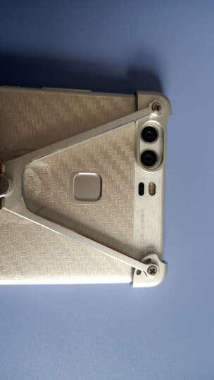 派凡 华为p9手机壳金属个性防摔p9plus手机支架 适用于华为p9/p9plus p9 plus-红色 晒单图