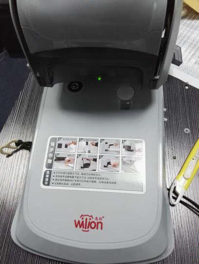 惠朗(huilang)HL-6801财务凭证装订机档案打孔机 轻便小巧 晒单图