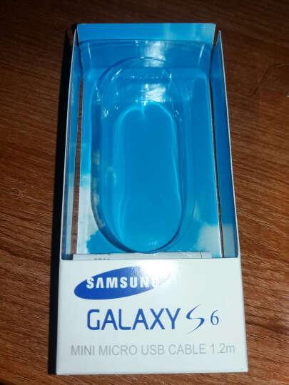 三星(SAMSUNG)数据线原装正品 安卓手机2A旅行充电器头USB充电线适用三星华为小米 1.2米快充数据线 晒单图
