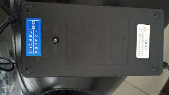 英发 智能电瓶车电动车充电器36v48v60v72v充电器 英发二代/务必核对型号买错不退 48V20AH 晒单图