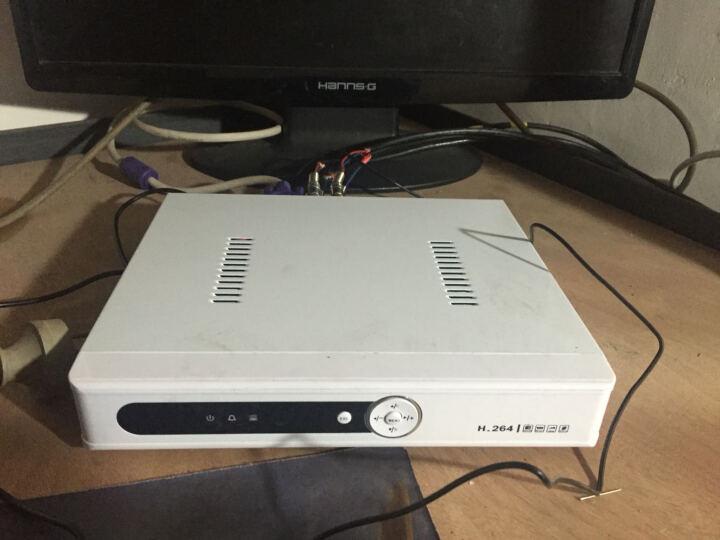 帝防 16路硬盘录像机 NVR网络数字高清监控主机模拟DVR监控录像机AHD刻录机十六路 带1TB硬盘 晒单图