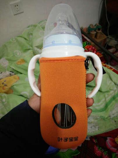 婴儿宽口径玻璃奶瓶(花纹随机)