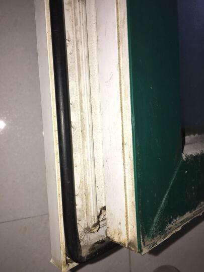 迪福德(DforD) D P E I 型 门窗密封条酒店宾馆房门防撞隔音发泡条 P型白色 10米/盒 晒单图