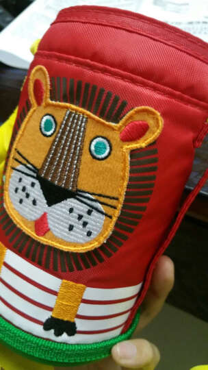虎牌Tiger儿童保温杯带杯套学生水壶304不锈钢户外水杯子MBJ-C06C-CG长颈鹿 晒单图