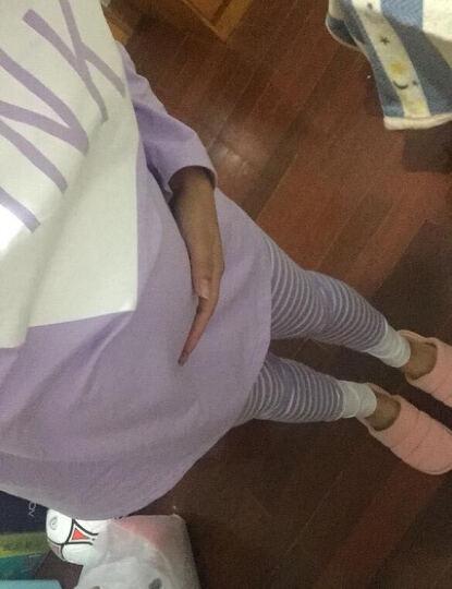 喜孕娇夏季月子服产后薄款纯棉纱布孕妇哺乳睡衣春秋产妇坐7月份8吸汗夏 日式仙人掌白色 L码 晒单图
