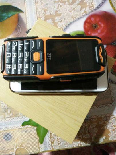 中兴健康(ZTE Health) L628 移动/联通 三防直板老人手机老年手机超长待机 黑色 晒单图