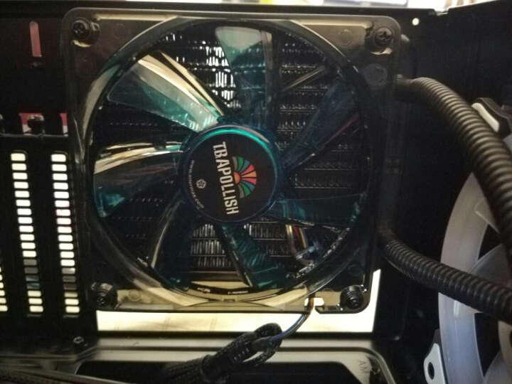 安耐美(Enermax) 安耐美CPU水冷散热器SCT铜头状态灯ELC-LM120S水冷 120S-TAA 晒单图