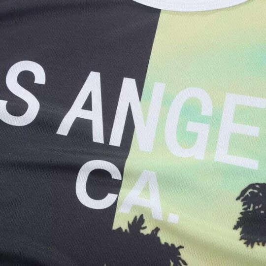 天普伦潮型库背心男运动夏季男士韩版修身无袖T恤学生数码印花透气篮球衣服 五角星 2XL 晒单图