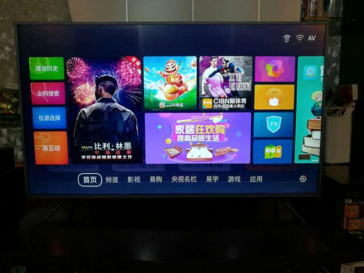 康佳(KONKA) V49U 49英寸4K超高清36核HDR金属机身MEMC智能电视 晒单图
