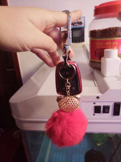 LUCKEASY 凯迪拉克钥匙包XTS ATSL CT6 CTS钥匙壳汽车改装钥匙套 C款红色带公仔 晒单图