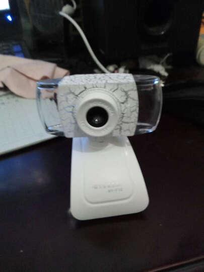 现代(HYUNDAI)摄像头电脑台式机免驱网络高清内置麦克风 HY-F10 白色 晒单图