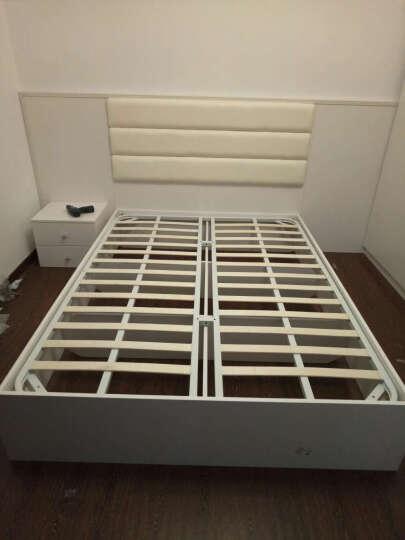 诗尼曼衣柜 定制卧室成套家具现代简约衣柜 整体大衣柜衣橱 双人床1.5米衣柜卧室成套家具 梦幻粉 晒单图