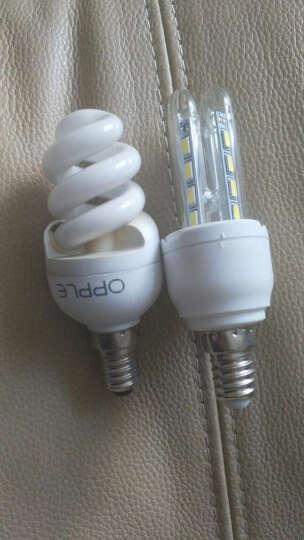 晶致 led灯泡玉米灯节能灯e27大螺口 LED玉米灯e14小螺口2U3U型灯 台灯管 E14小螺口5W白光款 晒单图