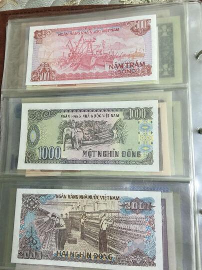 楚天藏品 越南纸币 越南盾 东南亚纸币纪念钞收藏 500-10000盾全套共5张 晒单图