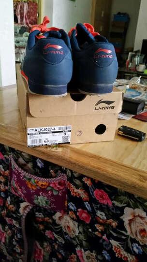 李宁休闲鞋男子夏季新款透气运动鞋复古3K慢跑鞋ALCH113/ALKJ027 ALCH113-3里欧红雪白 42 晒单图