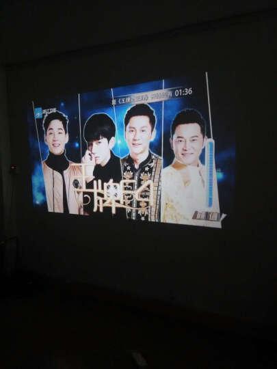 福满门(Fumen) 福满门 B100-BA 高清外置wifi 投影仪LED投影机 办公 银色套餐一 晒单图