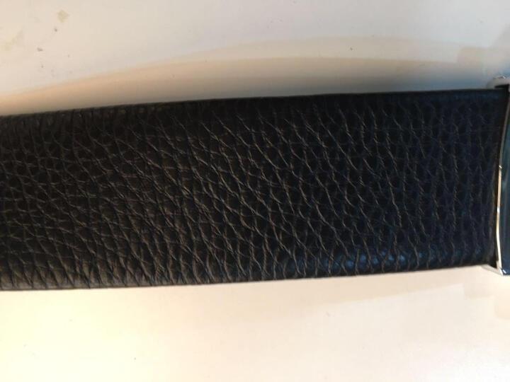 红谷男士皮带礼盒套装 时尚商务皮带男自动扣男士腰带裤带 H21104302漆黑 晒单图