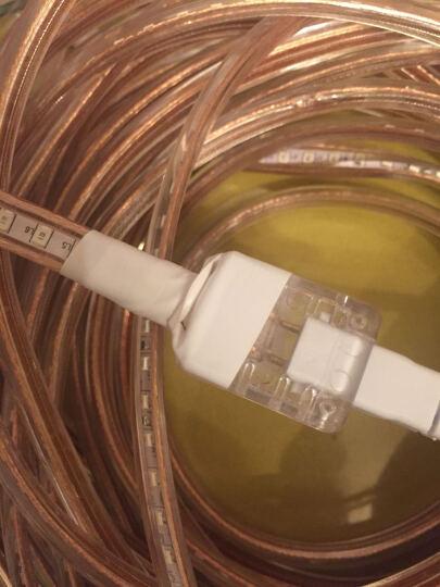 【低至6.6】蓝魅led灯带5050软灯条 2835双排客厅吊顶暗槽防水软线灯多色可选 高亮版—双排192珠【比美灯管】折后11.8 暖白 晒单图