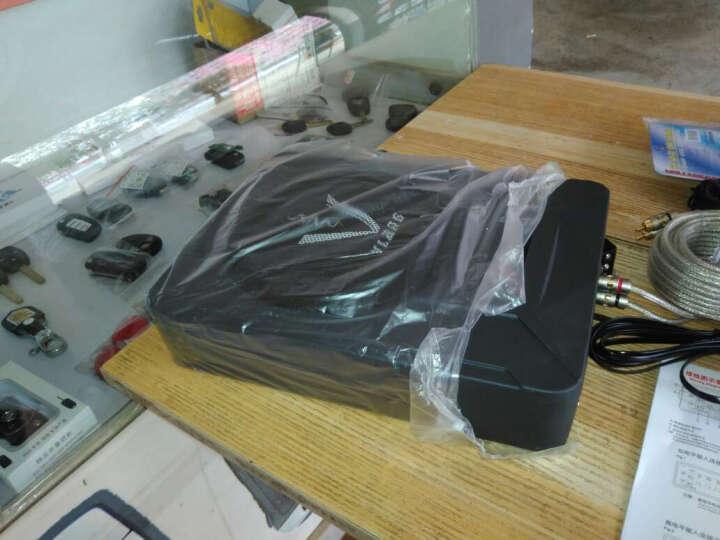 XdIob汽车音响低音炮超薄10英寸车载音箱带功放有源重低音喇叭12V超薄低音炮 x-1081(单个) 晒单图