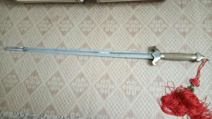 太极晨练剑龙泉不锈钢软剑武术表演剑 二十八寸 晒单图