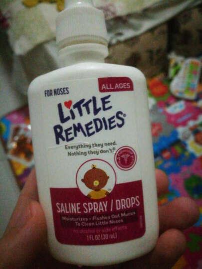 Little remedies 美国 西甲硅油婴儿肠绞痛防胀气打嗝新生儿宝宝哭闹崔玉 滴鼻剂30ml 晒单图