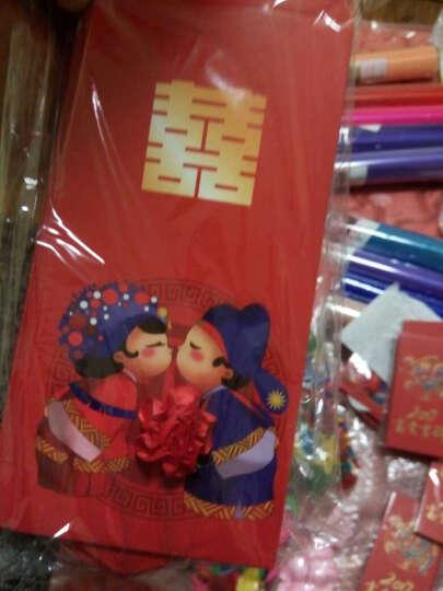烟雨集 婚礼红包 初见中式结婚创意卡通大小利是封 婚庆用品 中国风 大红包10个装 晒单图