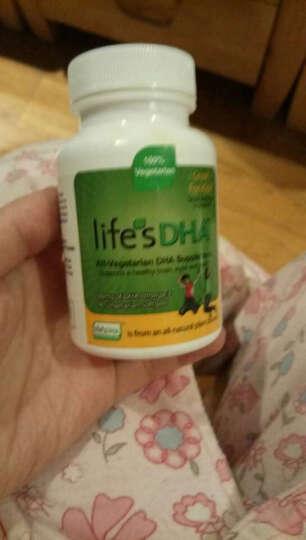 Life's DHA 美国进口 马泰克Martek婴幼儿DHA软胶囊宝宝孕妇海藻油 孕妇DHA海藻油60粒 晒单图