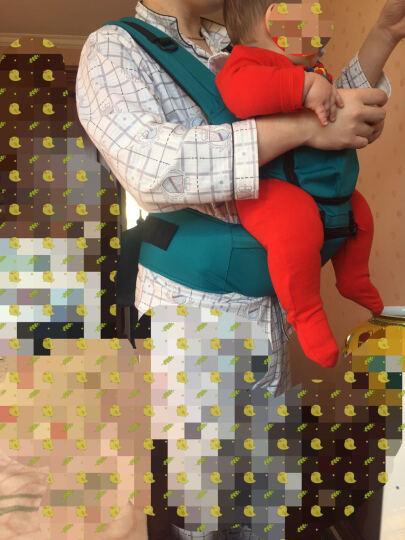 gb好孩子 婴儿背带腰凳妈咪包 双肩腰凳婴儿背带抱婴带(大红色) 晒单图