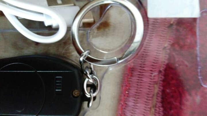 香烟打火机钥匙充电打火机 创意防风个性USB电子点烟器 非煤油充气电弧送兄弟 绿色升级版 晒单图