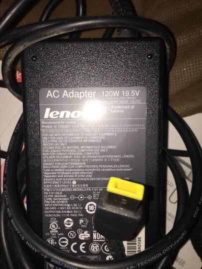 联想(LENOVO) 原装笔记本电脑充电器 电源适配器 方口19V 6.32A升级为20V 6A C360 晒单图