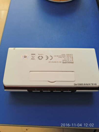 飞利浦(PHILIPS)DLP8082 商务精英 无线蓝牙音箱/插卡音箱/音响 电话会议扬声器/免提通话/移动电源 红色 晒单图