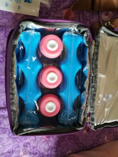 V-COOOL背奶包母乳冷藏保鲜冰包便携双层保温储奶包 都市款藕粉色(背奶全套) 晒单图