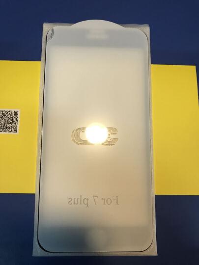 加能 苹果8钢化膜 全屏覆盖3D贴膜 防指纹手机保护膜 iPhone 7/8/8 Plus 4.7英寸 白边3D曲面全玻璃热弯钢化膜高清版 晒单图
