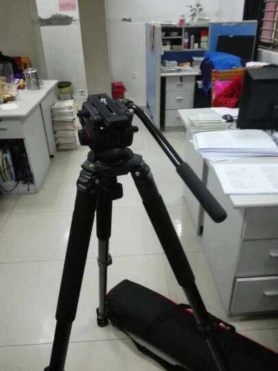miliboo米泊MYT803液压云台摄像机单反球碗平底两用三脚架云台碗径75mm阻尼微调云台 晒单图