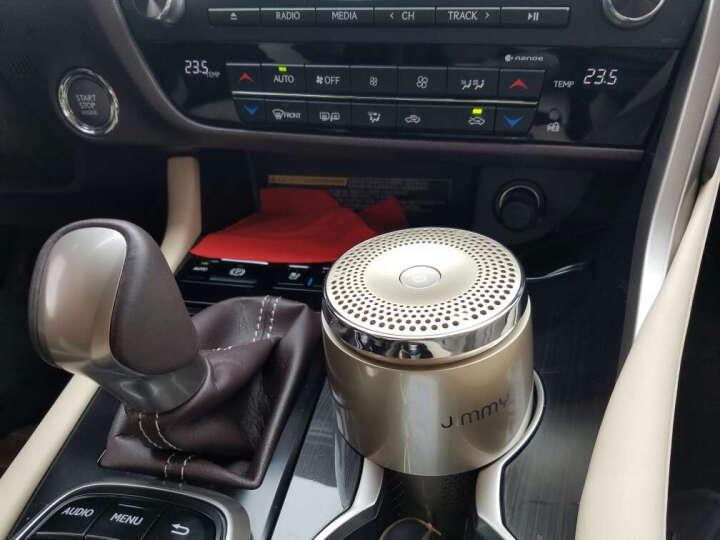 莱克KJ102B-1 汽车车载空气净化器迷你小型车用除甲醛异味净烟味香薰 晒单图