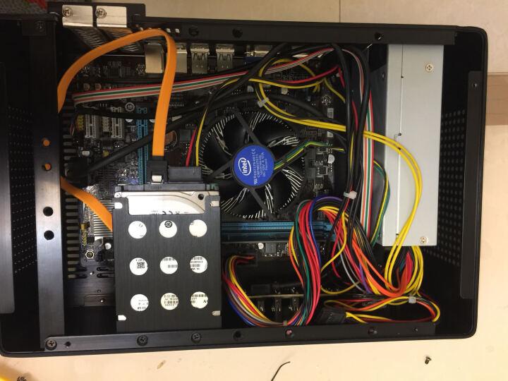 佑泽(CEMO) 9001全铝迷你小机箱HTPC客厅卧式桌面小钢炮支持mitx主板支持宽幅1U电源 银色 晒单图