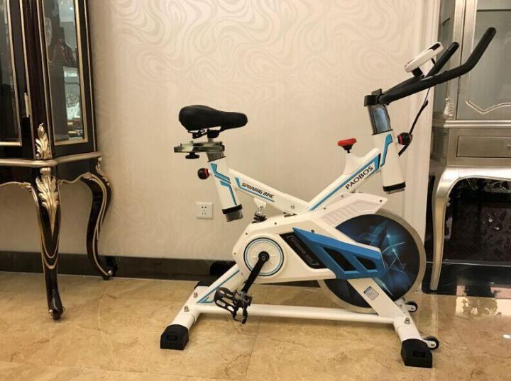 韩国智能动感单车 超静音家用室内健身车脚踏车自行车磁控运动减肥器健身器材 飞轮重量10公斤 晒单图