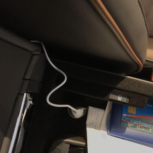 品胜 爱车充 手机车载点烟孔 USB充电器 手机/平板通用车载充电头 迷你USB车充 苹果充电套装(含苹果6数据线) 晒单图