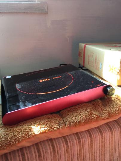 SKG电陶炉家用电磁炉茶壶炉不挑锅单环数码速显1685红色 晒单图