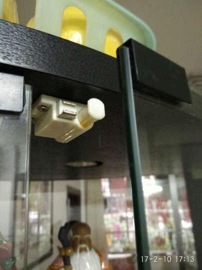 精稳五金 衣柜橱柜门吸磁碰碰珠 玻璃门门吸碰珠 柜门门碰 柜子家具碰珠磁碰 59801 晒单图