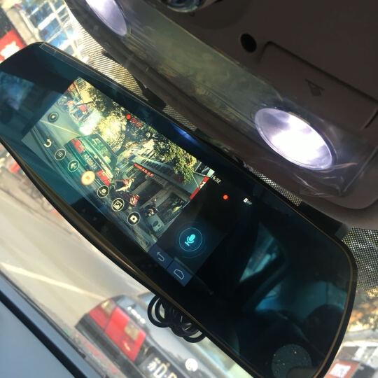 丁威特 高清智能声控导航仪行车记录仪双镜头电子狗蓝牙wifi升级无光夜视停车监控倒车影像后视镜一体机 套餐四 10英寸单镜头前录智能导航电子狗 晒单图